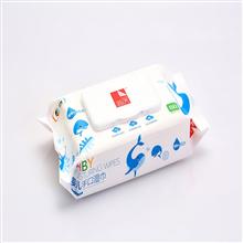 中粮简沃婴儿手口可用柔湿巾JQ-17601(80片/包)*5