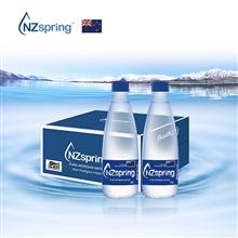 溪蓝水NZspring新西兰原装进口饮用水365mlx24瓶