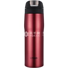 日本虎牌不锈钢真空杯保温杯MJC-A048+3M防细小颗粒物口罩9501V加(15只/盒)