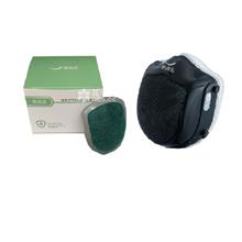 原森态电动送风防pm2.5成人口罩Q5S+原森态Q5S原装滤芯1盒5片*3