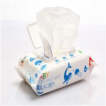 中粮简沃婴儿手口可用柔湿巾JQ-17601(80片/包)*2