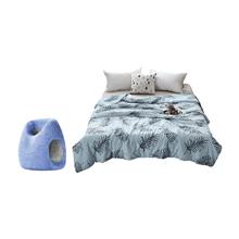 树洞午睡枕STO-0580(经典款)+金丝莉云母暖凉被JB-1091