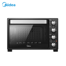 美的家用多功能黑色二代旋转烧烤电烤箱T3-321C(32L)