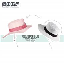 法国KIETLA进口儿童遮阳帽男女童防晒盆帽防紫外线太阳帽 1-12岁