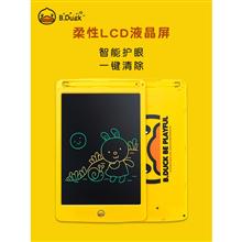 B.Duck小黄鸭儿童彩色液晶画板手写板J105C