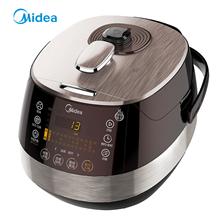 美的(Midea)浓香钢胆中途加菜预约定时双胆电压力锅PSS5051P(5L)