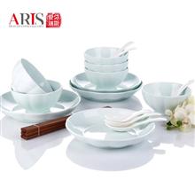 爱依瑞斯ARIS陶瓷18头餐具manbetx万博官方下载AS-D1801H(金瓜)