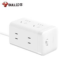 公牛(BULL) 白色全长3米6位大魔方插座插线板插排GNV-UE2240