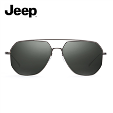 Jeep个性飞行员偏光墨镜A6268