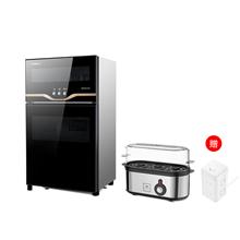 康宝(canbo)立式家用消毒柜VA1系列70L(3-5人适用)+康宁多功能煮蛋器WK-EC-3/K