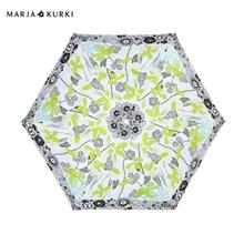 玛丽亚·古琦(MARJA KURKI)超轻迷你晴雨两用五折伞