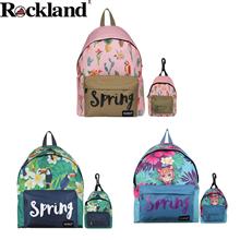 美国洛克兰Rockland休闲双肩包Spring花背包
